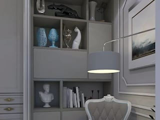 Sala de Leitura: Salas de estar  por Legrand Arquitetura