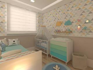 Quarto de bebê: Quartos de bebê  por Legrand Arquitetura
