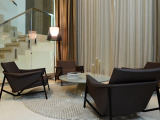 Salas de estilo moderno de Interart Arquitetura Moderno