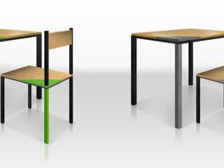 Mobiliario:  de estilo  por Rotor Creativo