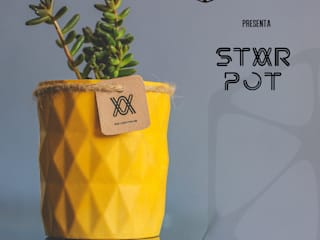 STAR POT:  de estilo industrial por STUDIO ZINKIN, Industrial