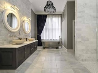 Maida Vale Townhouse Whitehouse Interiors BathroomTextiles & accessories