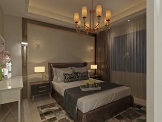 50GR Mimarlıkが手掛けた寝室