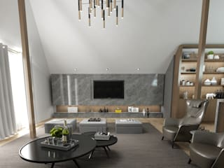 Salones de estilo  de 50GR Mimarlık