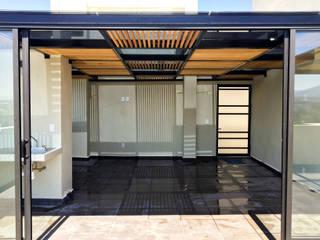 Boceto Arquitectos Paisajistas Roof Iron/Steel