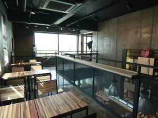 전남 순천 마스터커피 인더스트리얼 스타일 바 & 클럽 by 모노웍스 인더스트리얼