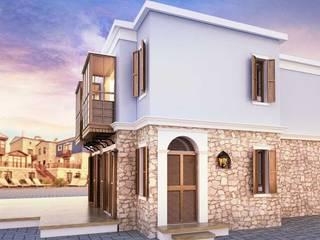ANTE MİMARLIK Hoteles de estilo mediterráneo