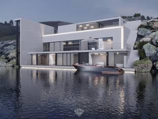 Casas de estilo ecléctico de Студия дизайна интерьера Руслана и Марии Грин Ecléctico