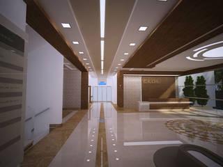 ANTE MİMARLIK Hospitales de estilo moderno