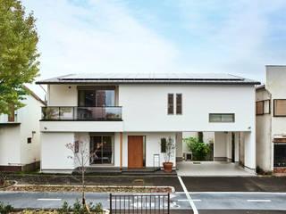 House in Nakamoz モダンな 家 の デザインルバート一級建築士事務所 モダン