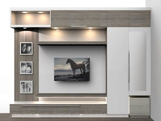 Modern Apartment Design by Milav Design Modern