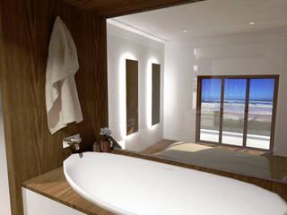 Suite, moradia em Oeiras Quartos modernos por Reprojeta Moderno