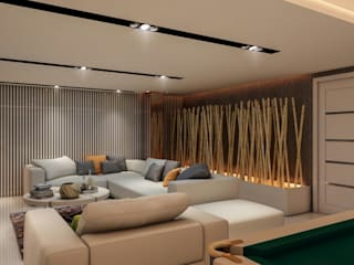 ANTE MİMARLIK Living room Beige