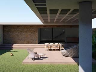 Casa Vista por Aoki Arquitetura Minimalista