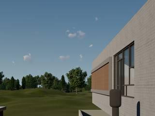 Casa Vista por Aoki Arquitetura Moderno