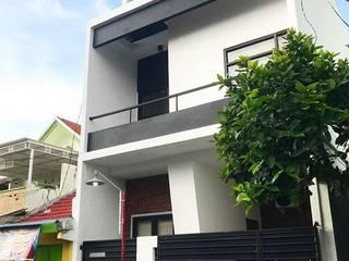 Pagar rumah Tigha Atelier