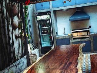 Mesa PAROTA 3.1x1.4 metros de Casa Abadia - mobiliario Rústico