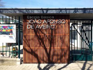 REQUALIFICAÇÃO DA ESCOLA BÁSICA JOÃO AFONSO, AVEIRO por GAAPE - ARQUITECTURA, PLANEAMENTO E ENGENHARIA, LDA