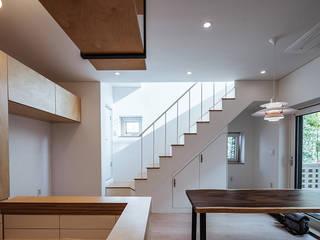 Escadas  por AAPA건축사사무소, Moderno