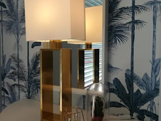 Suite Azul Quartos tropicais por Gonçalo Chen Interiores Tropical
