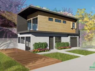 Residência GM: Casas familiares  por Estação Arquitetura