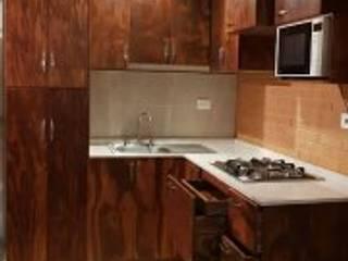 Minimalist kitchen by asiul zevach muebles Minimalist