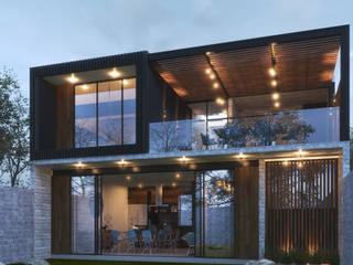 Residencia GC [León, Gto.] 3C Arquitectos S.A. de C.V. Casas unifamiliares