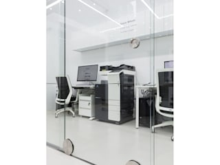 WITHJIS(위드지스) Offices & stores Glass Transparent