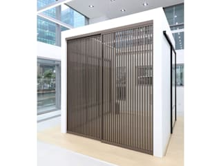 WITHJIS(위드지스) Exhibition centres Aluminium/Zinc Brown
