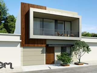 Taller 3M Arquitectura & Construcción Single family home Wood Brown
