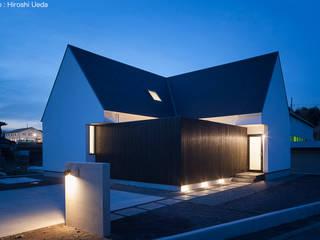 平屋デザインの家 OUCHI-41 石川淳建築設計事務所 木造住宅 白色