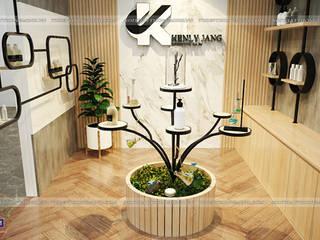 HPRO thi công nội thất gỗ laminate nhà máy mỹ phẩm Kenly Jang tại Quảng Ninh: công nghiệp  by Nội thất Hpro, Công nghiệp