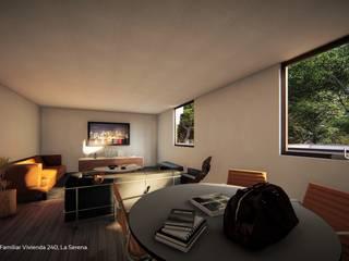 Territorio Arquitectura y Construccion - La Serena Moderne Wohnzimmer