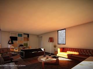 Territorio Arquitectura y Construccion - La Serena ห้องนั่งเล่น