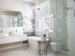 House Lilford Eclectic style bathroom by Bespoke Bathrooms Eclectic