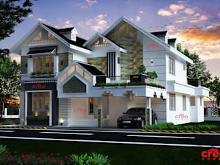 Designers in Kochi Creo Homes Pvt Ltd Asian style houses