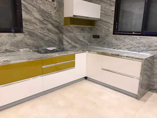 Dapur built in oleh SSDecor, Klasik