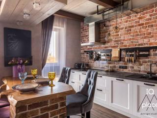 Лофт в Ромашково: Маленькие кухни в . Автор – IQ Place Design,