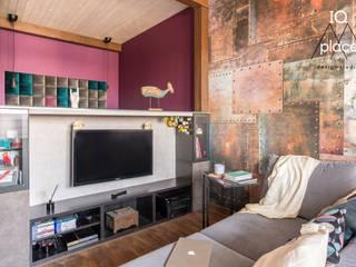 Лофт в Ромашково: Гостиная в . Автор – IQ Place Design,