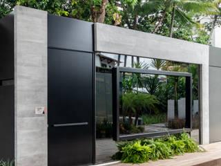 Arquitetura Sônia Beltrão & associados Rumah tinggal Beton Grey