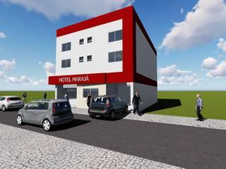Reforma Fachada Hotel Marajá:   por Vilas Bôas Arquitetura