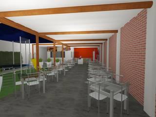 Reforma Pizzaria:   por Vilas Bôas Arquitetura
