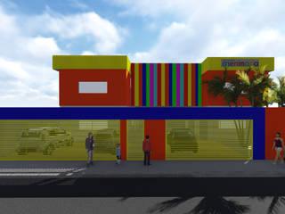 Projeto Reforma Meninada: Paredes  por Vilas Bôas Arquitetura