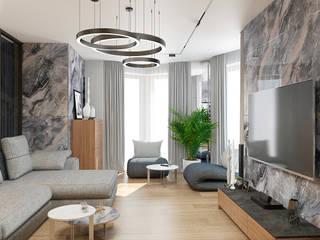 Livings modernos: Ideas, imágenes y decoración de Дизайн Студия 33 Moderno