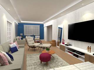 Гостиная в стиле модерн от DV ARQUITETURA Модерн