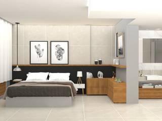 Apartamento Leblon Quartos modernos por DV ARQUITETURA Moderno
