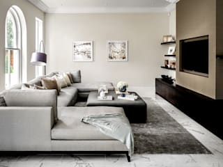Mark Hardy Salon moderne Beige