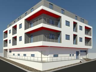 Construção de um Prédio por jpg.p Arquiteto Moderno