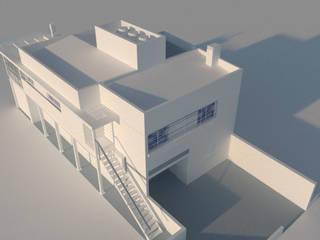 Casa Hernandarias de Arq. Germán Perez Biello Moderno