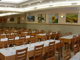 Restaurante Lojas e Espaços comerciais modernos por Luís Fôjo Arquitecto Moderno